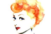 #82 Lucille Ball / Graphics and links to accompany episode 82 of The History Chicks Podcast