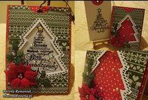 moje kartki bożonarodzeniowe - christmas cards / kartki świąteczne - christmas cards