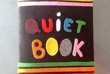 Un jour un quiet book / Des idées pour réaliser un livre pour les tout-petits #quietbook #livreenfant #diy