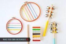Un jour un Instrument à fabriquer / Des #diy d'instruments de musique à fabriquer, top ! #instrumentdemusique #enfant #bricolage