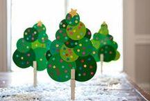 Un jour une activité pour Noël / Des idées d'activités à faire au mois de décembre avec les enfants pour préparer Noël. #enfant #diy #bricolage #noël #activitécréative #loisircréatif