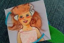 craft inspiration / Gorgeous arts and crafts ideas to try, great creative inspiration