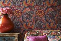 Haymes Stocked Wallpaper / Wallpaper is a key part of the decorating story.