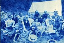 cyanotypes, daguerrotypes and other old photos