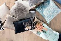 Kissen und Decken - Textilien / Kissen in Hülle und Fülle - die kleinen, weichen Polster mit dem großen Kuschelfaktor. So geht Verwöhnen!