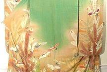 Kimono / Collections of kimono spotted all over the internet. #kimono #japan #tradition
