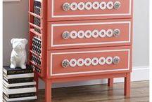 IKEA Hacks and Ideas / Transform your basic Ikea furniture with these IKEA ideas and hacks.