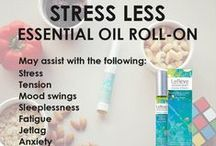 Aromatherapy Roll-Ons / 100% Pure Essential Oil Roll-Ons pre-blended and ready to enjoy.