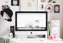 •Desks•