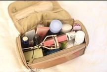 Packing / what's in my bag? / Packing tips and luggage reviews.