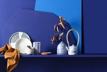 Colour Library - Curate / Curate represents a considerable shift in colour direction for the future, incorporating the pairing of unexpected colour combinations. The palette encompasses electric blues, bright corals, rich tans and soft greys. It is influenced by natural materials such as leather, rope, linen and ceramics, whilst the bright colours channel a playful and contemporary approach to colour and design.
