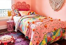 Kids' Rooms / Long gone are the days of decorating nurseries in pastel pink for girls and powder blue for boys!