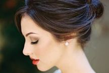 Wedding Make-Up / Inspiration board for wedding make-up - get some great ideas for bridal and bridesmaid make-up looks for your perfect day!
