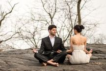 YOGA for your Wedding / We always suggest to our brides-to-be to relax and tone up physically and mentally in preparation for their wedding. Bringing yoga into your wedding planning creates a space of unity and relaxation, and helps connect you to the deeper meaning of your special day. We don't own these photos, just sharing ;)