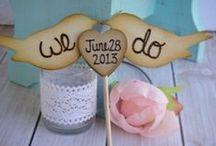 DIY wedding ideas / Every #wedding deserves beautiful decorations. Our DIY tips