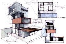 Bocetos / Referencias para la representación de arquitectura