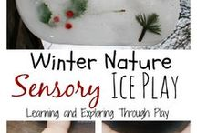 Winter Wonders / Winter is wonderful! Tips for enjoying nature outdoors comfortably and safely when it's cold, as well as nature-inspired activities for those indoor days! Activities and games for kids in the snow, too.