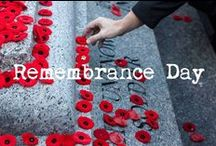 REMEMBRANCE DAY / http://babesngents.com/