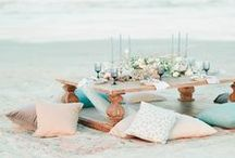 The Great Outdoors / Inspiration board for outdoor weddings - find some great ideas for an outdoors or open air wedding!