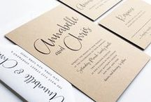 Wedding Invitations, Save the Dates & Love Letters / Inspiration board for wedding invitations, save the dates & love letter - find lots of ideas for all your paper, posting & stationary needs!