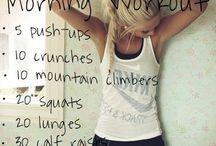 W O R K O U T S / Easy workout exercises