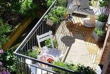 Outdoor / Gestaltung von Terrasse und Balkon