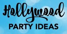 Hollywood Party Ideas / The Hollywood party theme can be a lot of fun. This board encompasses ideas and inspiration for an event shaped around this.