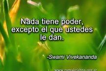 SWAMI VIVEKANANDA / Enseñanzas espirituales del Swami Vivekananda