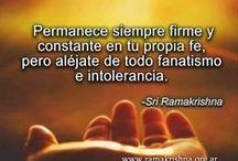 SRI RAMAKRISHNA / Enseñanzas espirituales de Sri Ramakrishna