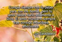 SRI SARADA DEVI / Enseñanzas espirituales de Sri Sarada Devi