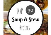 Recipes~ Soups & Stews / Comfort Food, Soups, Stews, Recipe, Tutorial, Cook, Food, Cooking, Dinner, Lunch, Supper, Fresh, Tasty, Hot soup, Cold Soup, delish, delicious, eating, hot,