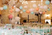 Wedding event: The Reception / Inspiration board for the wedding reception - find some great ideas for a wonderful wedding reception!