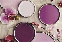 The Look: Purples & Lilacs / Inspiration board for a purple colour scheme - get some great ideas for a lovely lilac wedding!