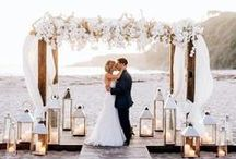 Archways and Alters / Inspiration board for archways and alters - get some great ideas for your wedding to find the perfect place to say 'I do'!