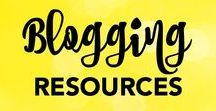 Blogging Resources / Tips, tricks, and resources for growing your blog.