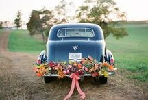 Wedding Transport / Inspiration board for wedding transport - get some great ideas for a journey to remember!