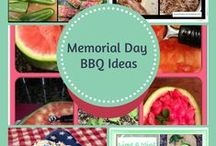Holiday~ Summer, Memorial Day, 4th of July & Labor Day / Holiday, Summer, Memorial Day, 4th of July, Labor Day, BBQ, Dessert, Meals, Dinner, Grilling, Activities, Crafts,