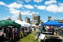 At our Flea... / The Summer Market 2017 returns on June 4 and runs every Sunday rain or shine from 10 am - 4 pm through September 10, featuring 50+ vintage and artisan/makers. Located across from 345 South Water Street in downtown Providence, RI. Check out our vendors and see what finds our customers scored! Follow us on Twitter, Instagram & Facebook. Share your finds! Use #pvdflea or tag our handle @providenceflea.