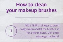 T I P S/D I Y for Beauty. / Very useful tips and tricks that's simple to adjust to their makeup routine.
