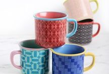 Retro Colors / Retro Colors from MultipleChoice by topchoice for SillyDesign Poland, colorful mugs
