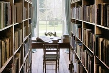 Book Nooks / Fabulous book collections from homes, libraries and around the world