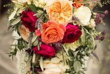 Wedding Bouquets + Flowers / Wedding bouquets and flowers inspiration. From poppies to peonies, we have wedding flower inspiration covered.