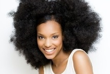 Afrofabulous! / I've always wanted a giant, fabulous afro...but alas, I was born with stick-straight silky hair that won't hold a curl, haha! We always want what we can't have, right?
