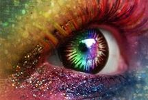 All about them eyes / Extreme eye designs and eye makeup.... Totally never do them but they sure do look awesome!