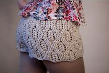 Bottoms Up Crochet / Crocheted Skirts, Shorts, and Leggings