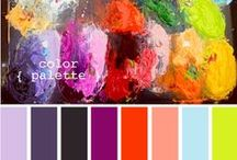 Palette / I love color combos, especially the unexpected variety! For use in home décor, creating a work of art, or planning the perfect outfit :)