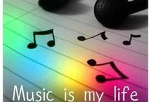 Music  / Life without music would b flat. Music is my life.