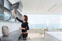 Keukens - opbergen / Opbergmogelijkheden en indelingen voor keukenkasten en -lades.