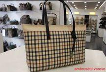 Daks London / Sbarca anche a Varese il british style di Daks London: portafogli e borse dal check inconfondibile e lussuoso.
