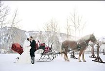 Winter Wedding Ideas / This cozy collection of winter wedding ideas will warm your heart and inspire you to have fun planning your winter wedding.